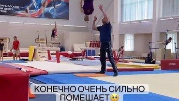 Гимнастка Мельникова заявила, что карантин перед встречей сПутиным помешает подготовке кчемпионату мира