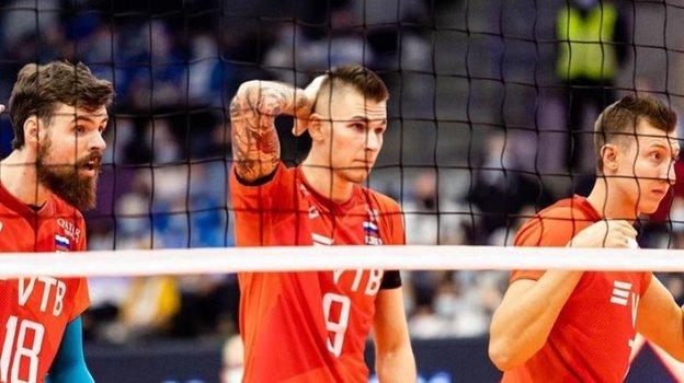Волейболисты сборной России. Фото Всероссийская федерация волейбола, Instagram