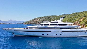 Фото яхты за1,2 миллиона долларов внеделю, накоторой отдыхал Майкл Джордан
