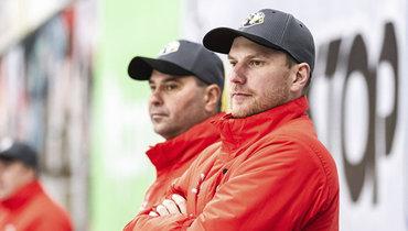 Тренер Георгий Гелашвили. Фото ХК «Трактор»
