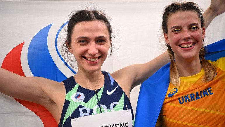 Мария Ласицкене (слева) иЯрослава Магучих. Фото Reuters
