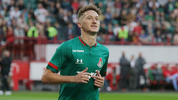 Антон Миранчук. Фото ФК «Локомотив»