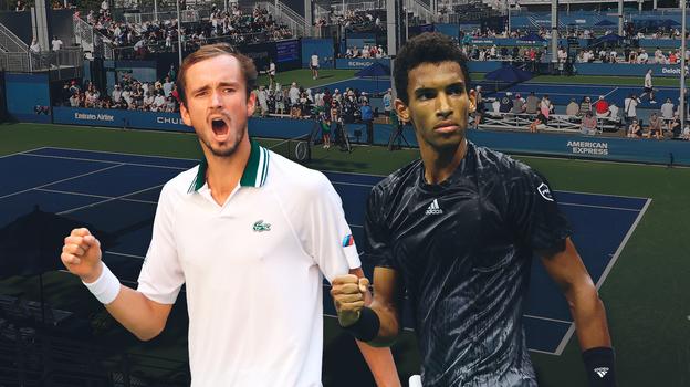 Теннис, USOpen: кто сыграет вполуфинале сМедведевым, прогноз, кто победит