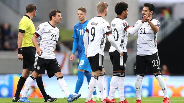Футболисты сборной Германии. Фото Getty Images
