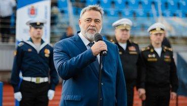 Председатель высшего совета Федерации регби России Игорь Артемьев. Фото Анна Горбань