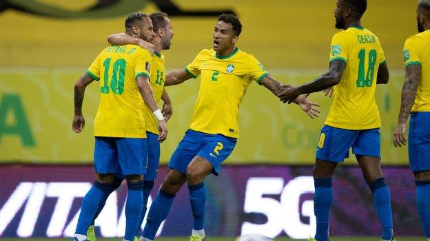10сентября. Бразилия— Перу— 2:0. Фото Twitter