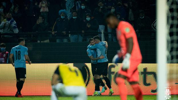 10сентября. Уругвай— Эквадор— 1:0. Фото Twitter
