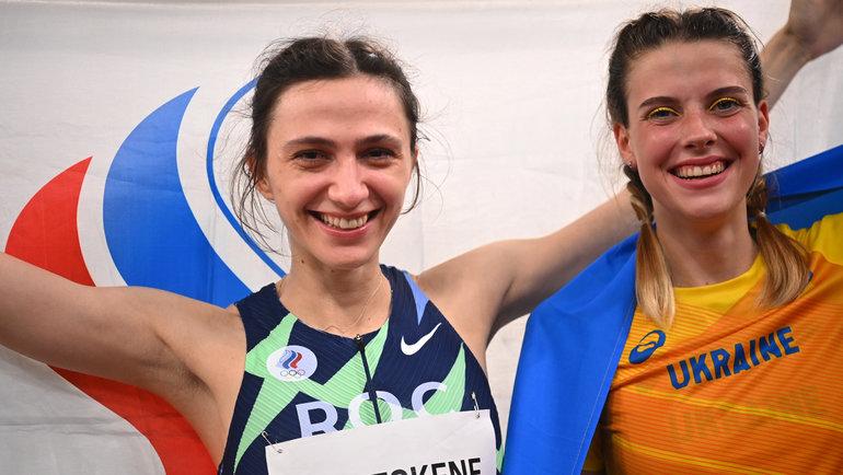 Мария Ласицкене (слева) и Ярослава Магучих. Фото Reuters