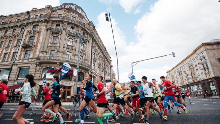 Московский марафон. Фото moscowmarathon.runc.run