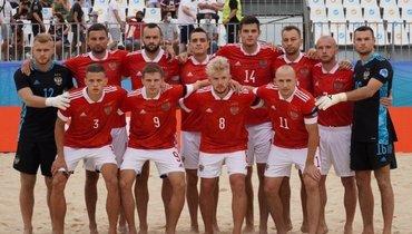 Россия может сыграть сУкраиной всуперфинале Евролиги попляжному футболу