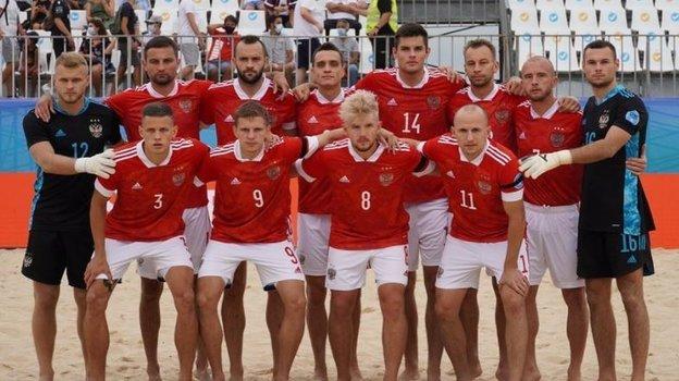 Игроки сборной России попляжному футболу. Фото Instagram