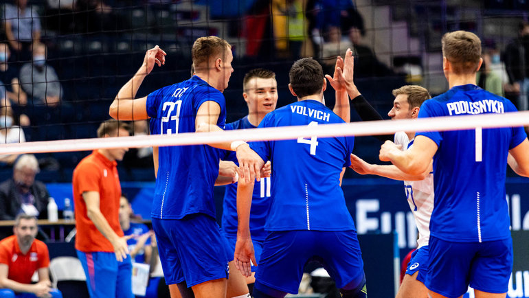 Сборная России по волейболу. Фото CEV