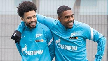 «Зенит»: Малком и Клаудиньо смогут сыграть в матчах с «Ахматом» и «Челси»