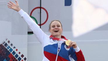 Олимпийская чемпионка Пацкевич— оТокио: «Мыпро себя так пели гимн России так, что уверена: его слышал весь мир»