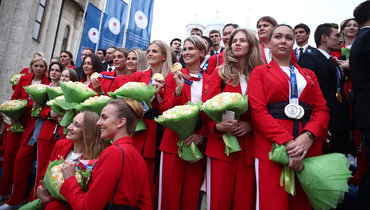 Российские синхронистки. Фото Кристина Кормилицына, «Известия»