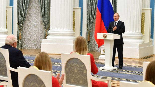 Владимир Путин наградил чемпионов ипризеров Олимпиады Токио 2020 изсборной России, главные цитаты