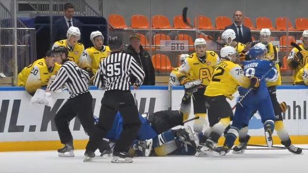 МХК «Динамо»— «Алмаз».