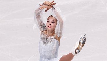 Ксения Синицына: прокат короткой программы наолимпийский сезон. Видео