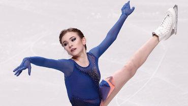 Дарья Усачева: прокат короткой программы наолимпийский сезон. Видео