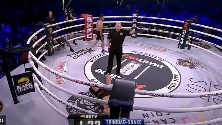Карлос Тринидад нокаутировал Ноя Каттера.