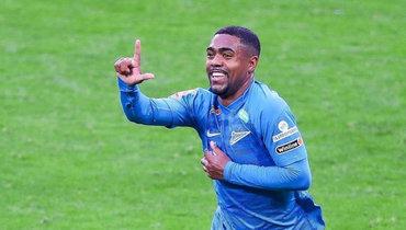 «Зенит» незря спасал Малкома: бразилец помог Семаку победить. УДзюбы две передачи