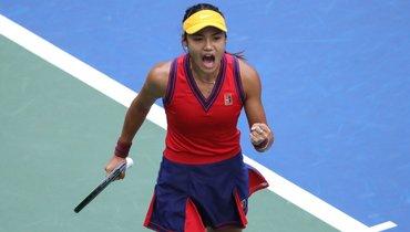 18-летняя Радукану обыграла 19-летнюю Фернандес истала победительницейUS Open