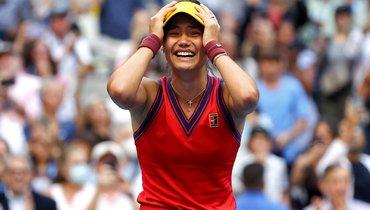 Радукану стала самой молодой победительницей турнира «Большого шлема» после Шараповой в2004 году