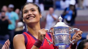 ПобедительницаUS Open Эмма Радукану. Фото AFP