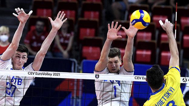 Россия— Украина— 3:1. Фото CEV
