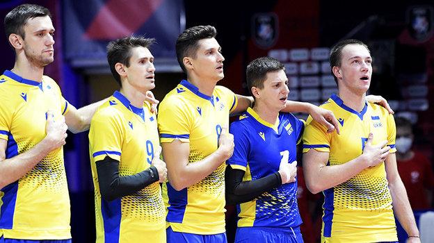 Украинские волейболисты. Фото CEV