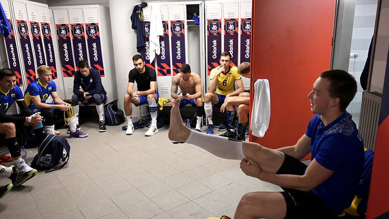 Волейболисты сборной Украины. Фото CEV