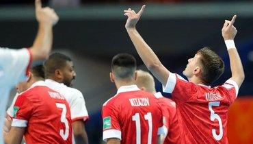 Сборная России спобеды стартовала наЧМ помини-футболу. Фото Instagram