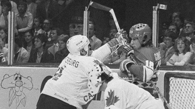 13сентября 1981 года. Монреаль. СССР-Канада— 8:1. Фото ТАСС