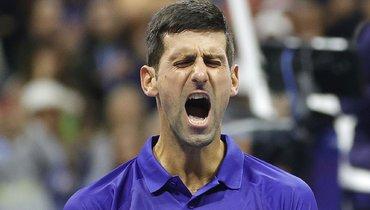 Джокович сломал ракетку после упущенного брейк-пойнта. Видео
