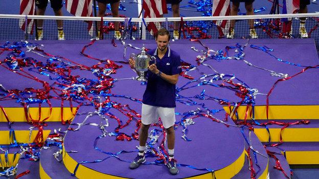 Россиянин Даниил Медведев выигралUS Open.