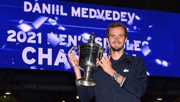 Даниил Медведев. Фото USOpen