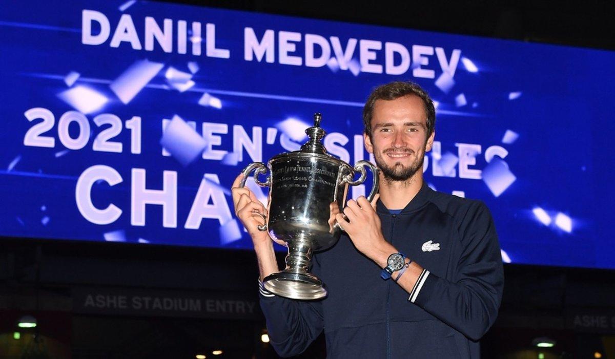«Спасибо, что спас мир». Реакция напобеду Медведева вфиналеUS Open