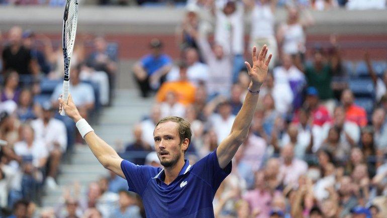 Россиянин Даниил Медведев— победительUS Open 2021 года. Фото Reuters
