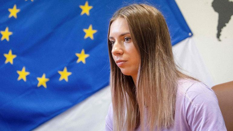Кристина Тимановская. Фото AFP