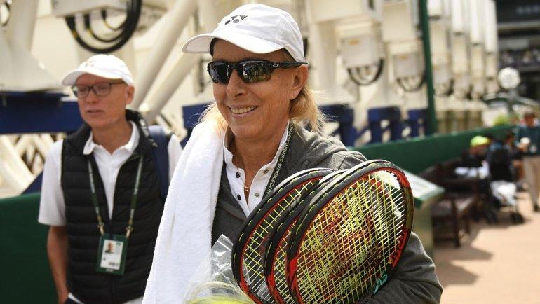Мартина Навратилова. Фото Getty Images
