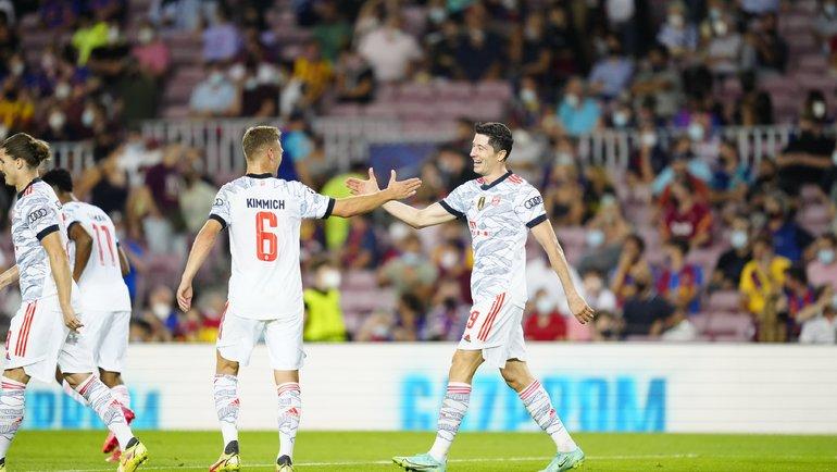 «Бавария» навыезде обыграла «Барселону». Фото Twitter