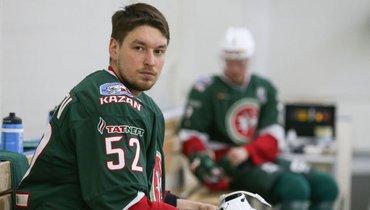 Радель Фазлеев. Фото ХК «АкБарс»