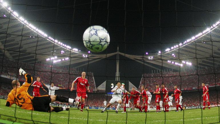 23мая 2007 года. Афины. «Милан»— «Ливерпуль»— 2:1. Гол Филиппо Инзаги. Фото Getty Images