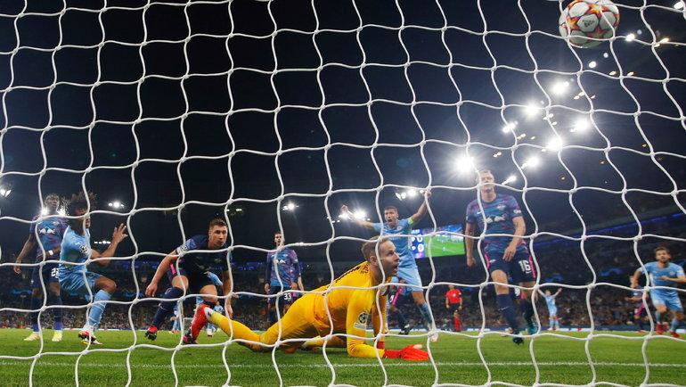 «Манчестер Сити»— «Лейпциг»: 9 голов заматч. Фото Reuters