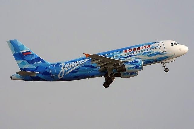 Самолет «Зенита». Фото ФК «Зенит»