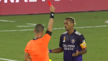 Нани получил красную карточку вматче MLS против «Монреаля»