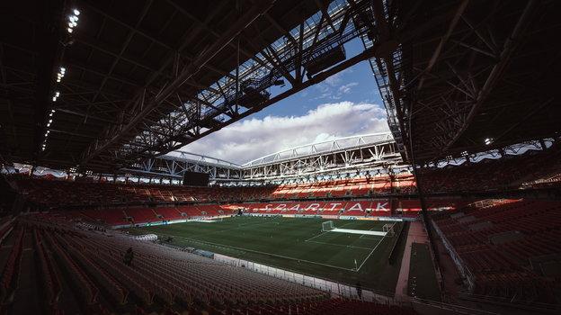 Стадион «Спартака». Фото Twitter