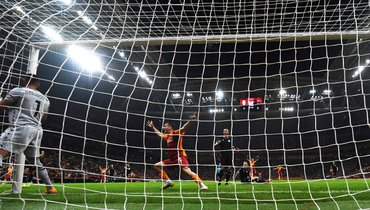 16сентября. Стамбул. «Галатасарай» (Турция)— «Лацио» (Италия)— 1:0. Фото AFP