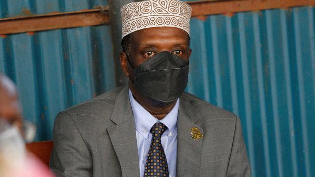 Бывший министр спорта Кении Хасан Варио. Фото Reuters