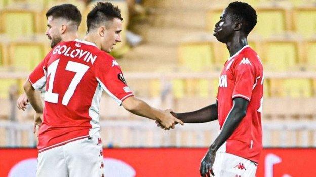 16сентября. Монако. «Монако»— «Штурм»— 1:0. Александр Головин (слева). Фото Instagram